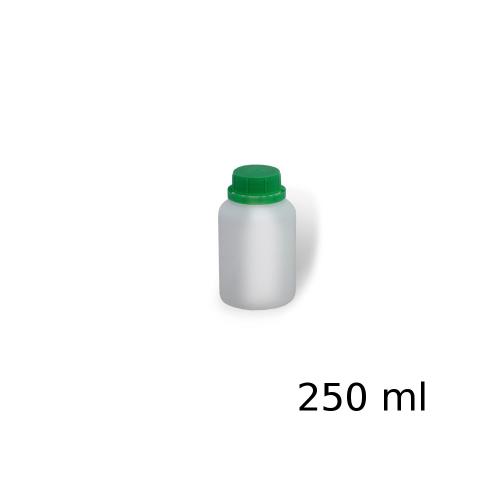 Butelka plastikowa PEHD z podziałką 250ml zakrętką