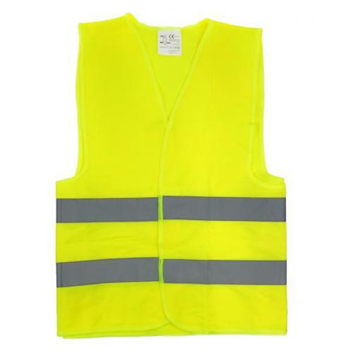 Kamizelka ostrzegawcz żółta dla dzieci