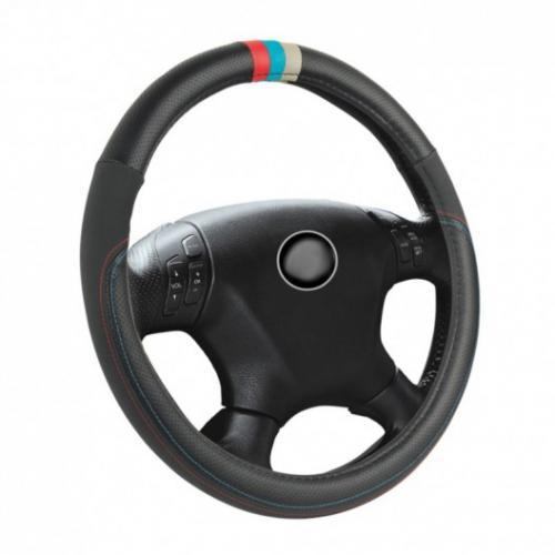 Pokrowiec kierownicy 37-39 cm barwy BMW M-power