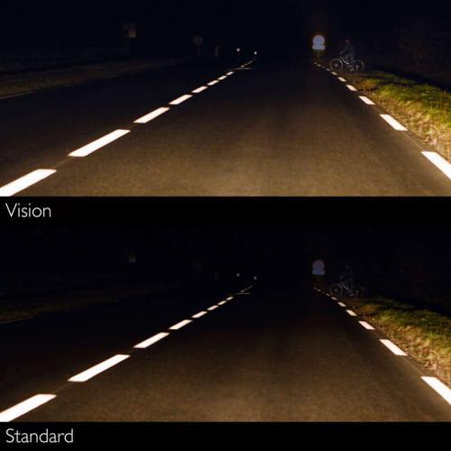 Żarówka Philips Vision H1 12V +30% więcej światła!