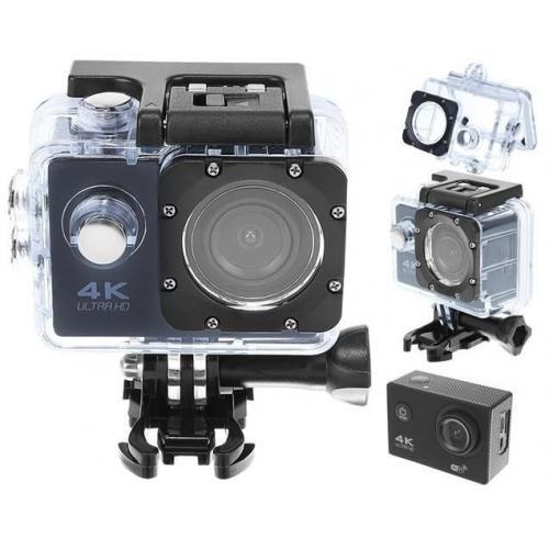 Kamera sportowa 4K ultra HD, wifi z kartą 32GB