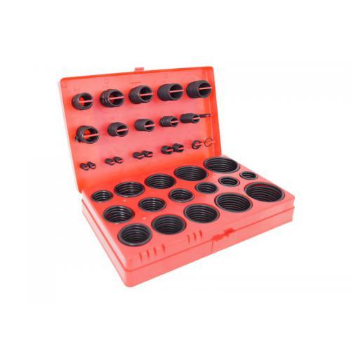 Zestaw oringi gumowe nitrylowe metryczne 419 sztuk
