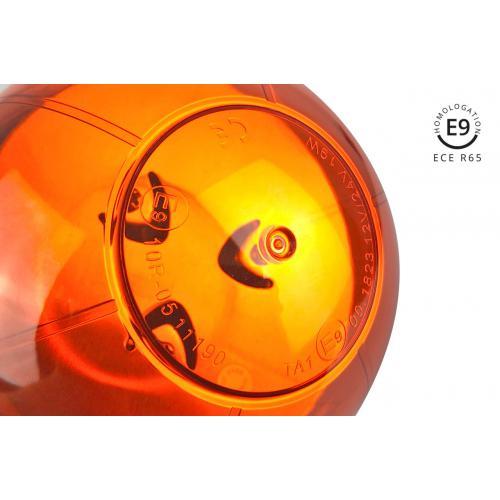 LAMPA OSTRZEGAWCZA homolog LED KOGUT Magnes 12/24V