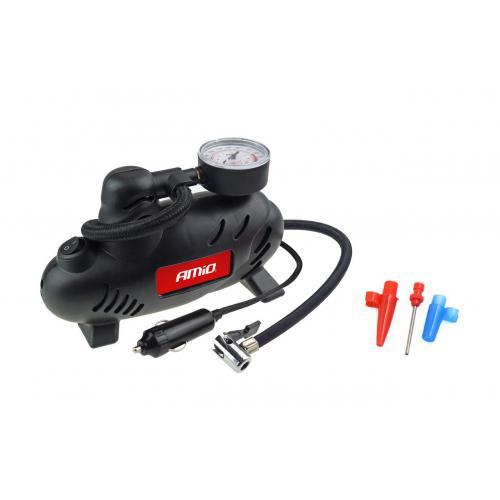 Kompresor samochodowy mini 17 bar 250PSI +końcówki