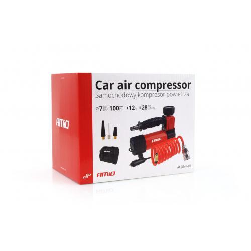"""Kompresor samochodowy mocny 100 PSI złącze 1/4"""""""