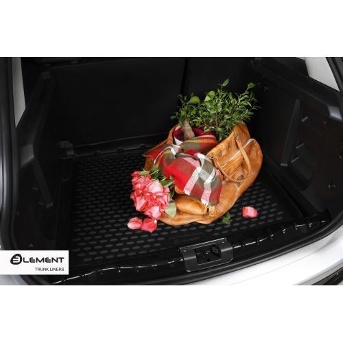 Audi A6 C7 sedan 12- Dywanik mata gumowa bagażnika