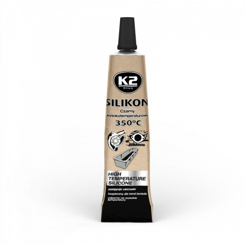 K2 Silikon wysokotemperaturowy BK +350°C 21g tubka