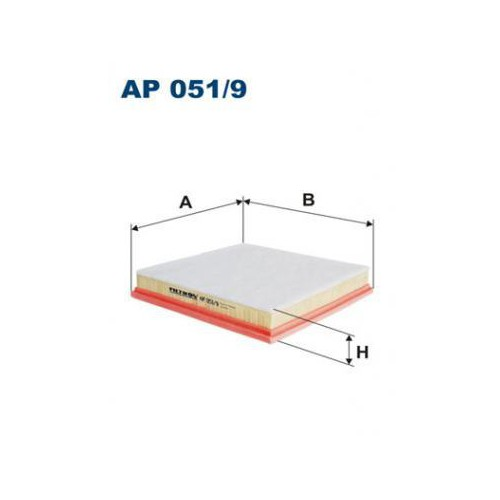 Astra J 1.4 Cruze Filtr powietrza Filtron AP051/9