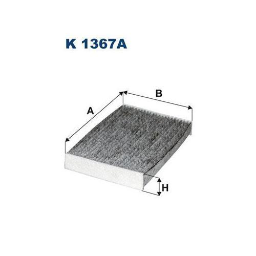 Filtr kabinowy Filtron K 1367A