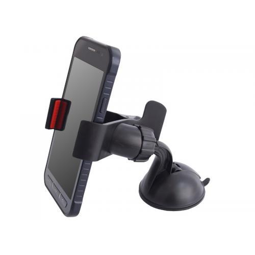 Uchwyt telefonu na Klips mocowany na przyssawkę