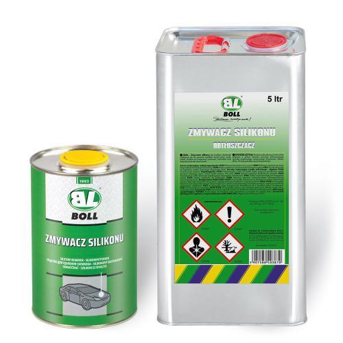 Zmywacz silikonu BOLL 1L + Opryskiwacz 1,5L PRO