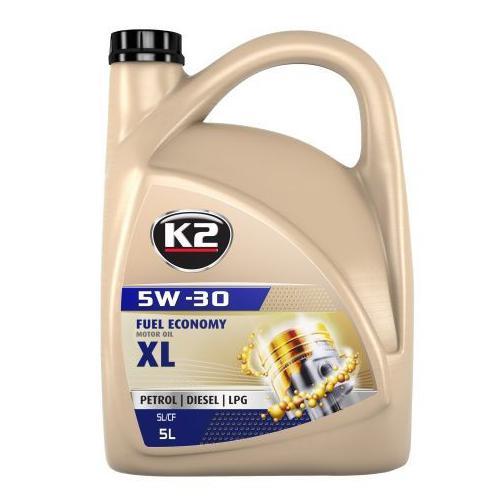 K2 Olej 5W30 K2 SL CF CF-4 5L Syntetyczny Nanotech