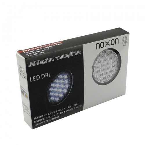Lampy światła dzienne Noxon A18 okrągłe 90mm