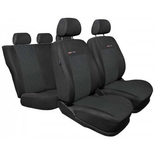 Dedykowane pokrowce na fotele samochodowe tkanina: Welur P1