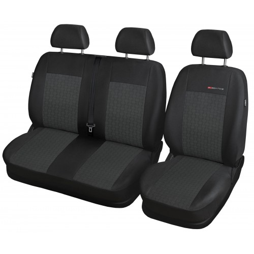 Vivaro I Trafic II Fotele 2+1 Pokrowce samochodowe