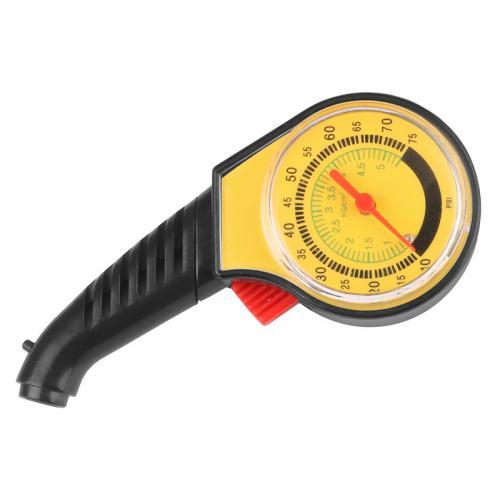 Ciśnieniomierz do kół plastikowy 5,5 BAR