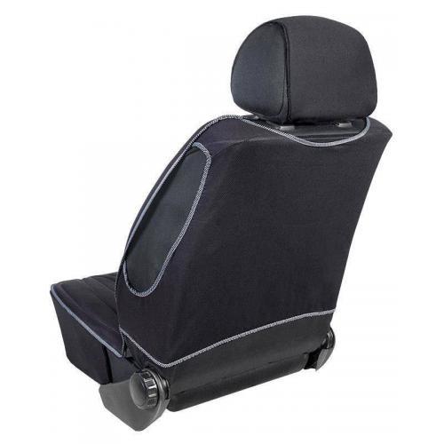 Pokrowiec na fotel uni profilowany XL Czarny