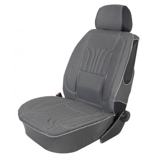 Pokrowiec na fotel uni profilowany XL Szary