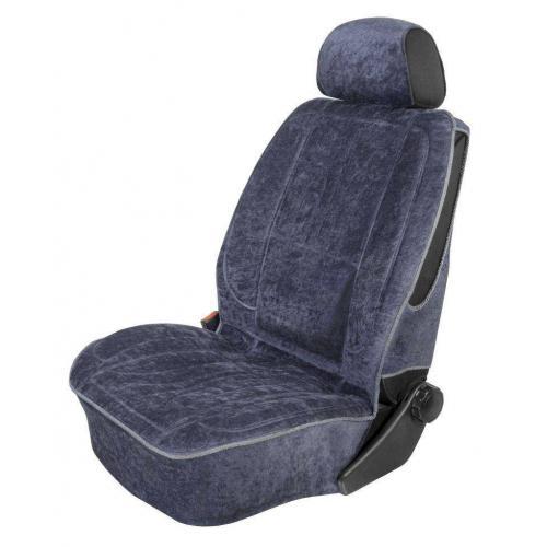 Pokrowiec na fotel uni profilowany XL Welur Granat