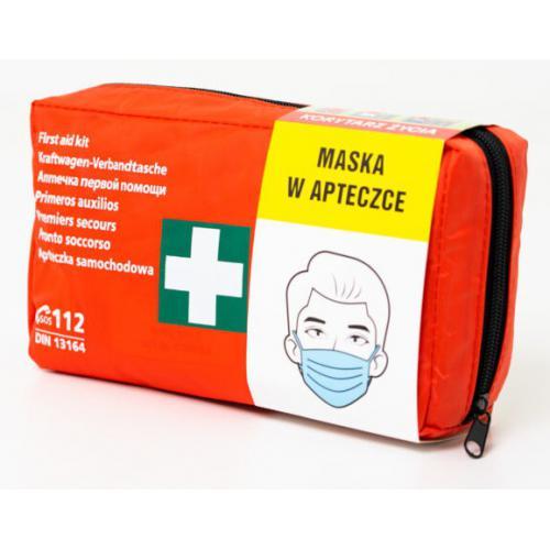 Apteczka pierwszej pomocy DIN13164 Ustnik Maseczka