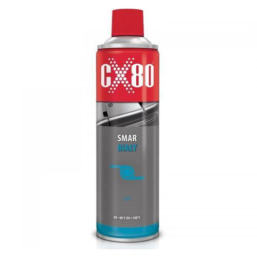 CX-80 SMAR BIAŁY AREOZOL 500 ML