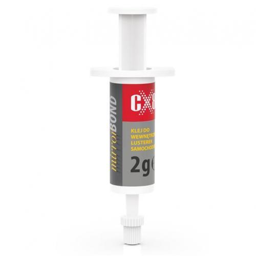 Klej do wstecznego lusterka CX80 Mirror bond 2g