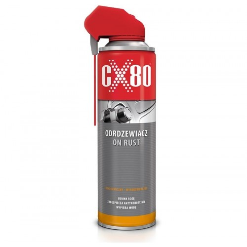 CX-80 ON RUST Odrdzewiacz DUO-SPRAY 500 ML