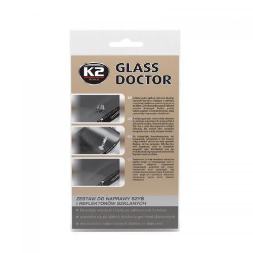 K2 Glass doctor Żywica do naprawy odprysków szyby