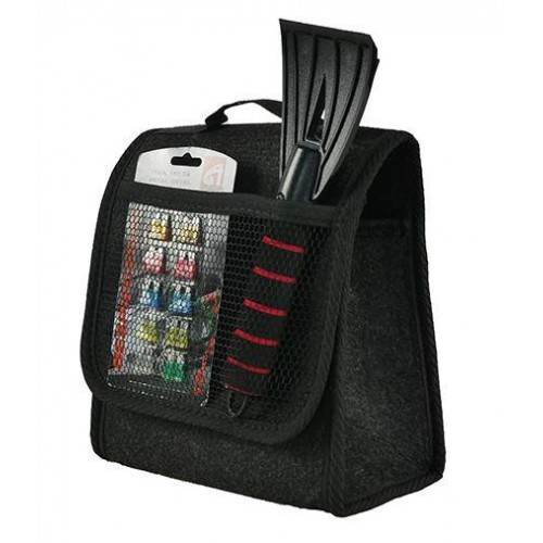 Kuferek torba organizer organizer bagażnika rzepy