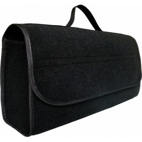 Organizer do bagażnika torba filcowa duża, na rzep