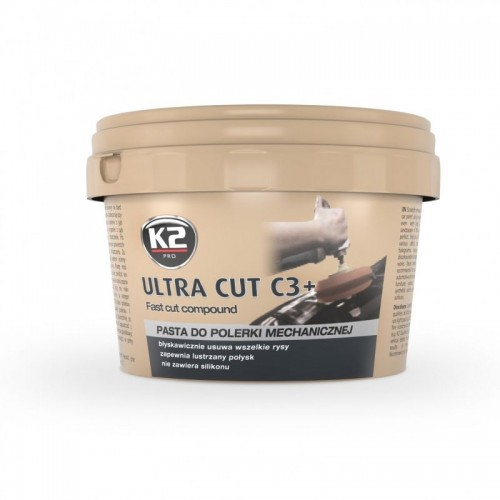 K2 ULTRA CUT C3+ Pasta polerska Usuwa duże rysy !