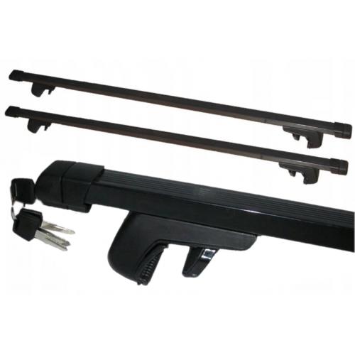 Poprzeczki na relingi dachowe AERO BASIC 120 cm