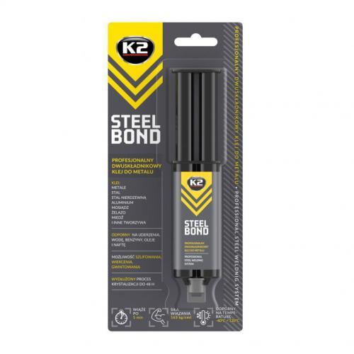 K2 STEEL BOND 25G Klej do metalu dwuskładnikowy