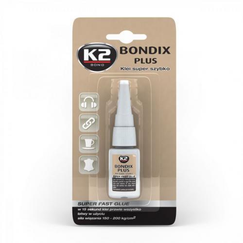 K2 BONDIX PLUS Klei super szybko prawie wszystko !
