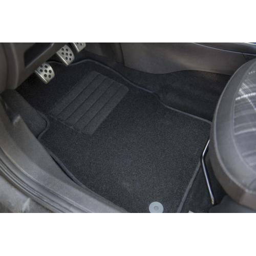 Dywaniki welurowe Nissan Qashqai ? tył łącz + klej