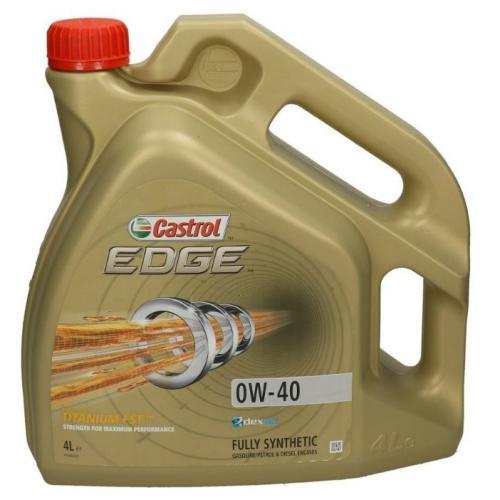 OLEJ 0W40 CASTROL EDGE 4L