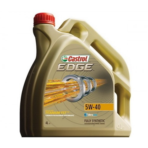OLEJ 5W40 CASTROL EDGE 4L