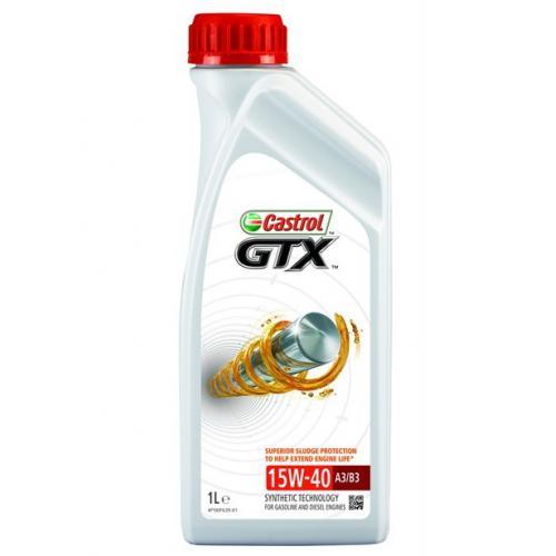 OLEJ 15W40 CASTROL GTX 1L