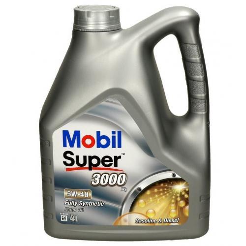 OLEJ 5W40 MOBIL SUPER 3000 X1 4L