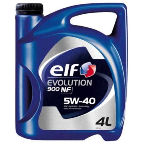 OLEJ 5W40 ELF EVOLUTION 900 NF 4L