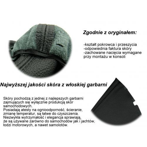 POKROWIEC BIEGÓW skóra SEAT LEON II/TOLEDO III GR