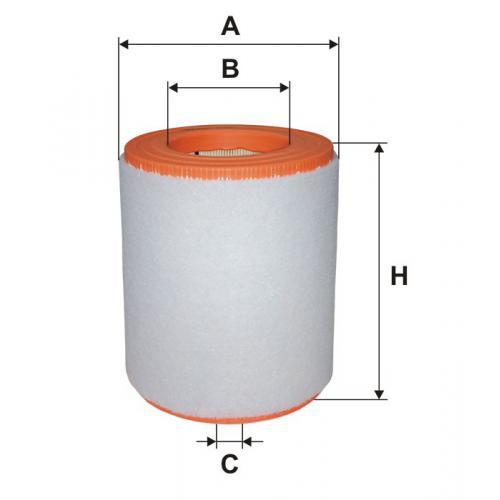 Filtr powietrza Filtron AR 371/7