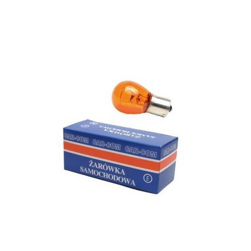 Żarówka halogenowa PY21W Ba15s Amber