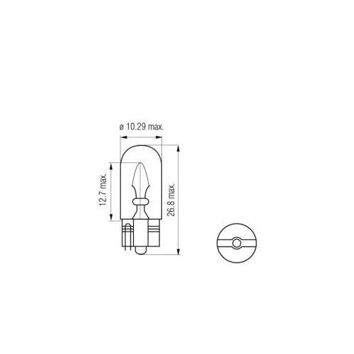 Żarówka W5W T10 5W Litech