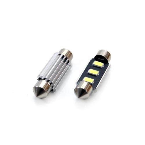 Żarówka C5W 36mm 3 SMD 5730 WH 12V Can