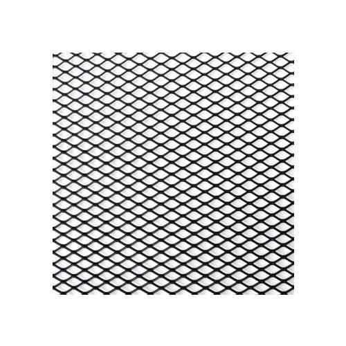Siatka zderzaka aluminiowa 12x4 plaster miodu bk